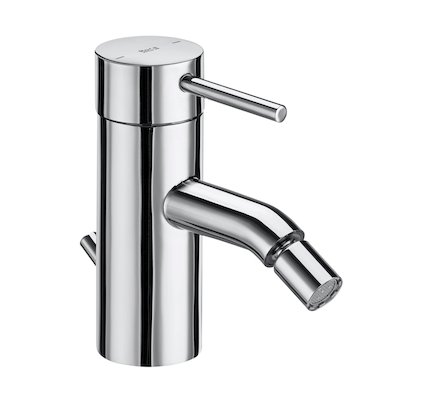 Roca Lanta Bidet Mixer with Pop-up Waste