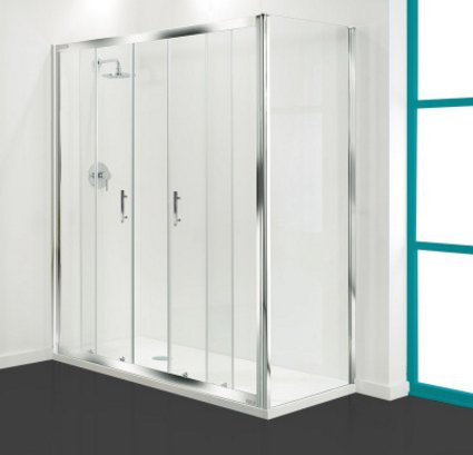 Coram Optima Double Sliding Door