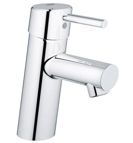 Grohe Concetto One Handled Smooth Body Mixer