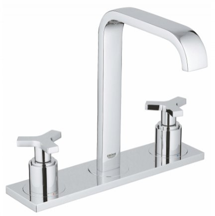 Grohe Allure Three Hole Deck Mounted Basin Mixer