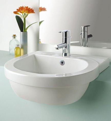 Silverdale Richmond 550mm Semi Countertop Basin | Bathroom ...
