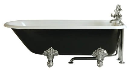 Heritage Essex Freestanding Cast Iron Roll Top Bath