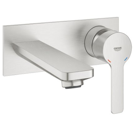 Grohe Lineare Two Hole Concealed Basin Mixer