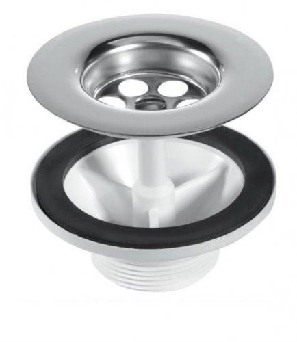 RAK Kitchen Sink Wastes 1.5 inch Stainless Steel Waste With Plug