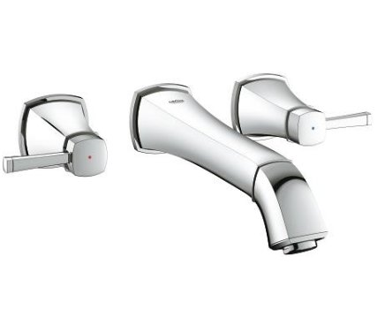 Grohe Grandera Three Hole Basin Mixer with Long Spout