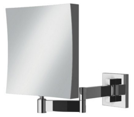 HIB Helix Square Extendable Magnifying Mirror