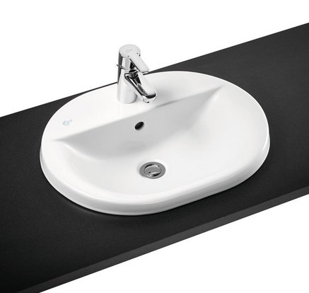 Ideal Standard Concept Oval 55cm Countertop Basin