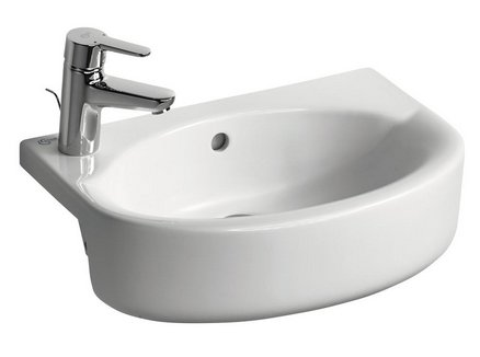 Ideal Standard Concept Space 50cm Arc Semi Countertop Basin
