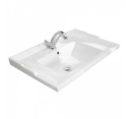 Bayswater 1 Tap Hole 600mm Traditional Basin