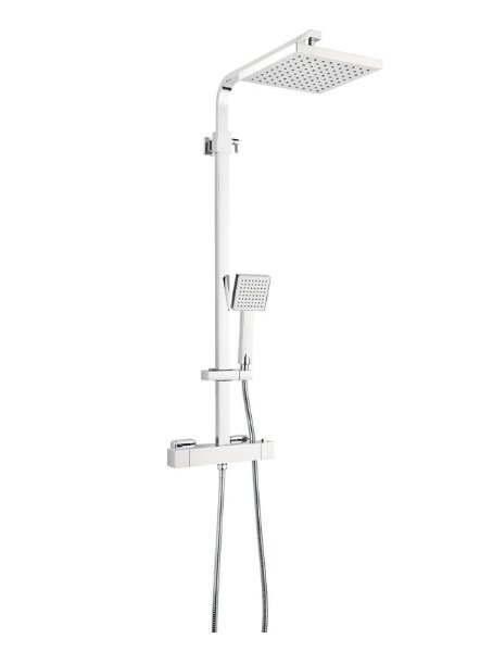 Marflow Mar Square Thermostatic Shower Valve with Integrated Diverter