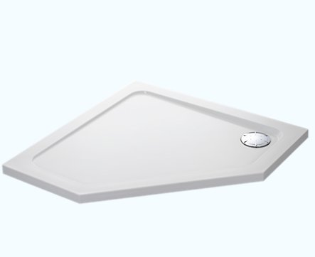 Mira Flight Safe 900 x 900mm Pentagon Shower Tray