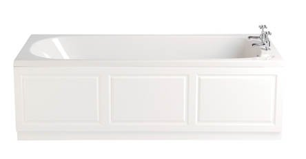 Heritage Dorchester 1700mm Acrylic Single Ended Bath