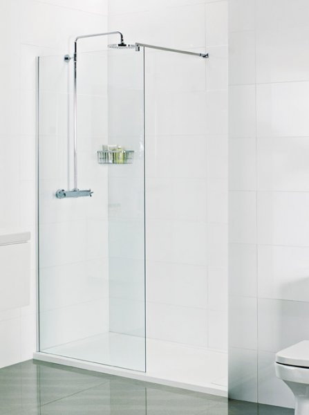 Roman Select 10mm Alcove Panel Pack for 1500 x 800mm Shower Tray