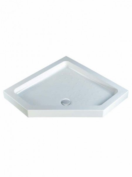 MX Classic 1000 x 1000mm S/R Pentangle Shower Tray