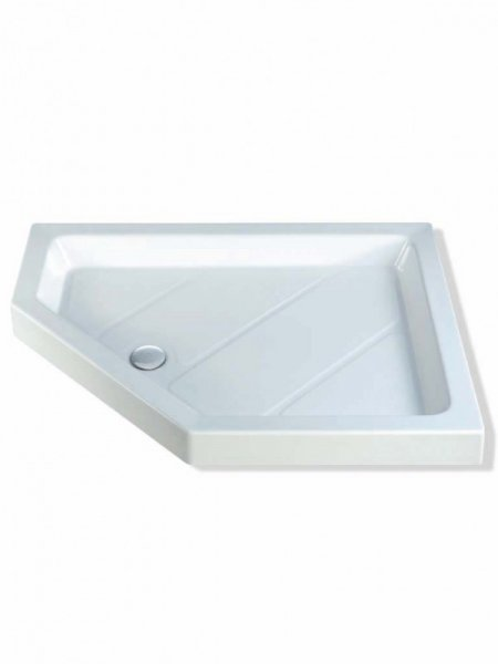 MX Classic 1200 x 900mm S/R Pentangle Shower Tray