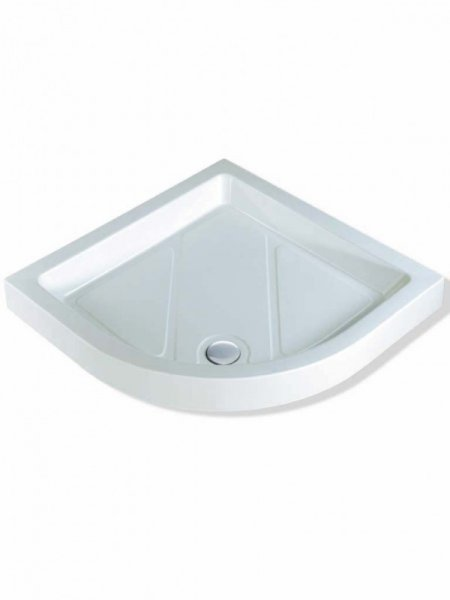 MX Classic 1000 x 1000mm S/R Quadrant Shower Tray (550 Radius)