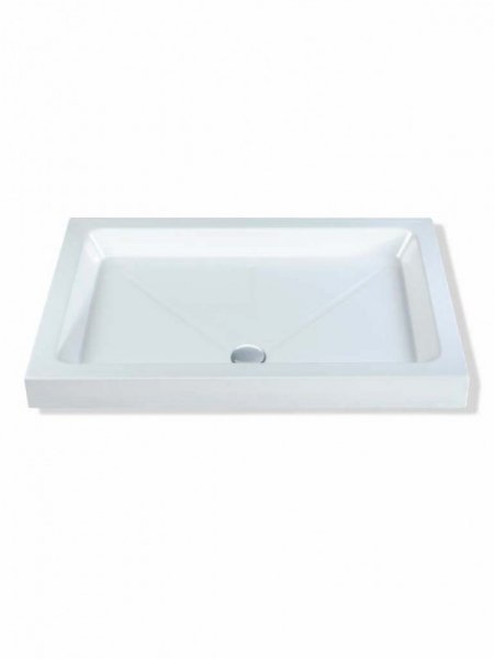 MX Classic 1600 x 800mm S/R Rectangular Shower Tray