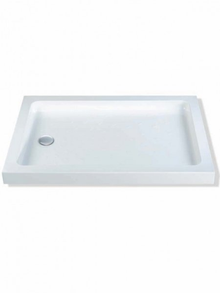 MX Classic 1200 x 800mm ABS Rectangular Shower Tray