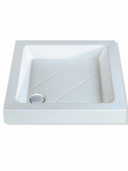 MX Classic 1000 x 1000mm S/R Square Shower Tray