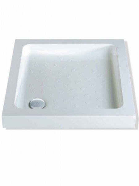 MX Classic 800 x 800mm ABS Square Shower Tray