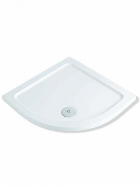 MX DucaStone 800 x 800mm Quadrant Shower Trays (550 Radius)