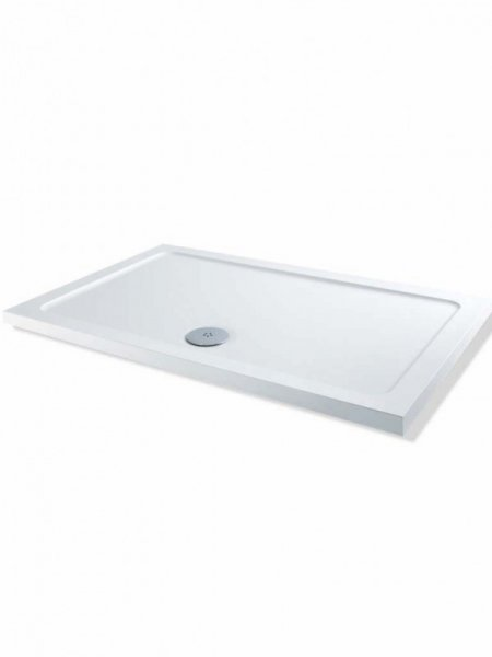 MX DucaStone 1100 x 760mm Rectangular Shower Tray