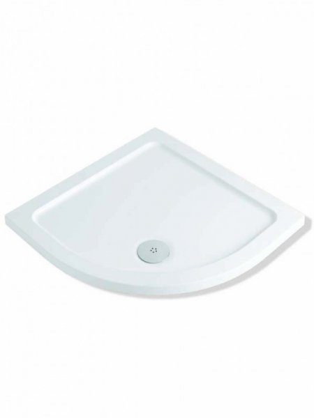 MX Elements 800 x 800mm Quadrant Shower Tray (550 Radius)