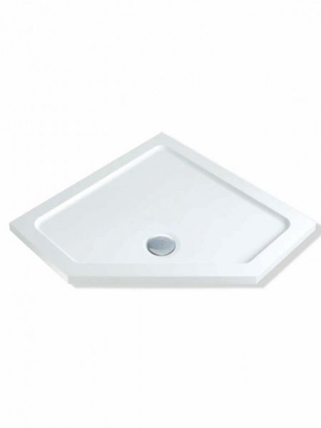 MX Solutions 900 x 900mm Pentangle Shower Tray