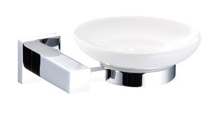 Marflow Now Quadre Ceramic Soap Dish & Holder