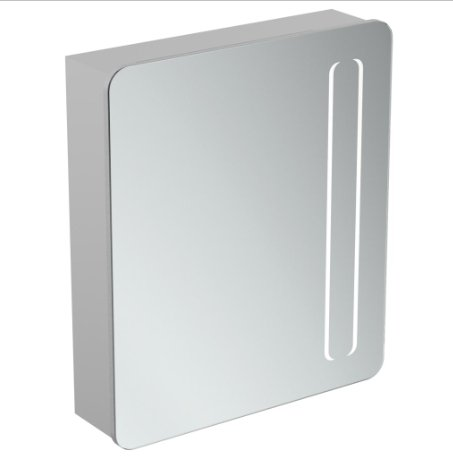 Ideal Standard 60cm Mirror Cabinet With Bottom Ambient & Front Light