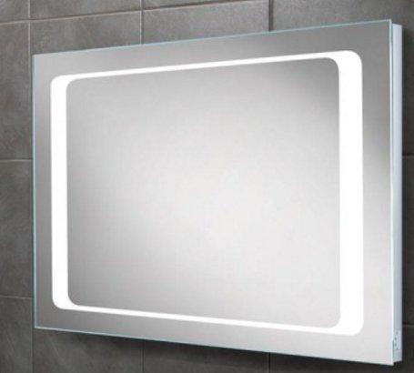 HIB Axis LED Mirror with Charging Socket