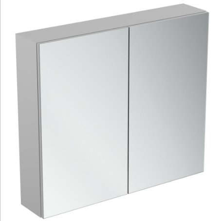 Ideal Standard 80cm Mirror Cabinet With Bottom Ambient Light