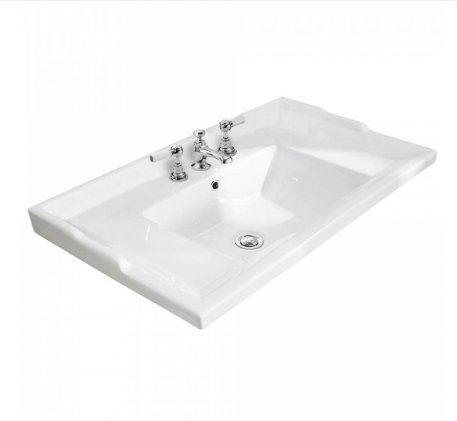 Bayswater 3 Tap Hole 800mm Traditional Basin