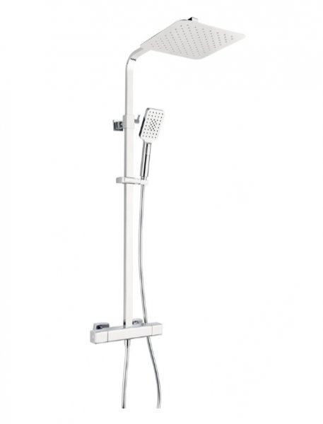 Marflow Premiertech Square Thermostatic Shower Valve (PTC7451K6)