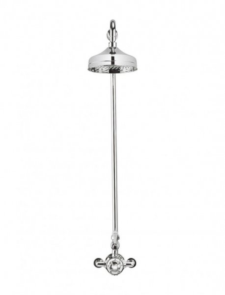 Crosswater Belgravia Chrome Thermostatic Shower Valve with 12