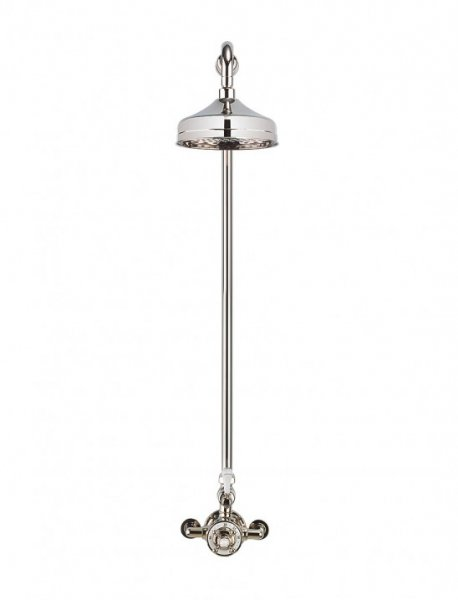 Crosswater Belgravia Nickel Thermostatic Shower Valve with 12