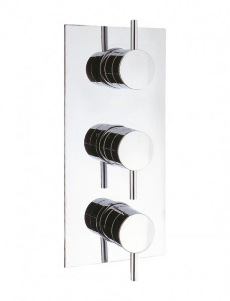 Crosswater Elite Portrait Thermostatic Shower Valve with 3 Way Diverter
