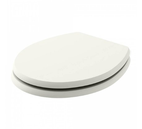 Bayswater Fitzroy Pointing White Traditional Round Wood Seat