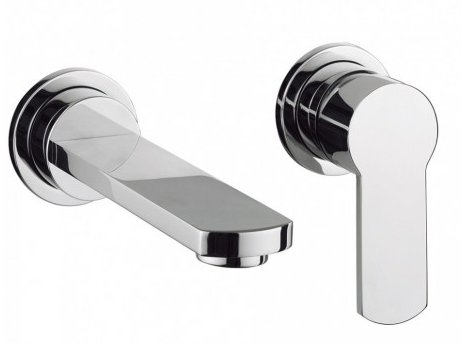 Crosswater Wisp Wall Mounted Basin Mixer