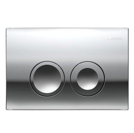 Geberit Delta 21 Gloss Chrome Flush Plate