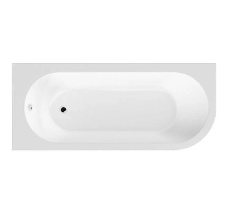 BC SolidBlue Amerina 1700 x 725mm Right Hand Bath