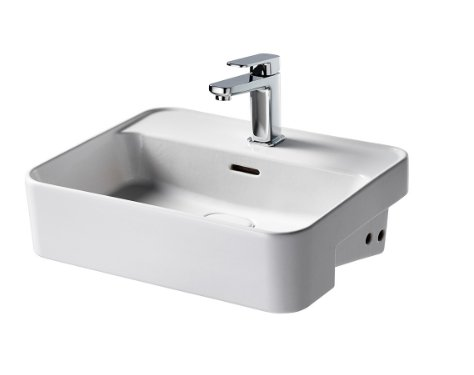 Sottini Fusaro 50cm Semi Countertop Basin