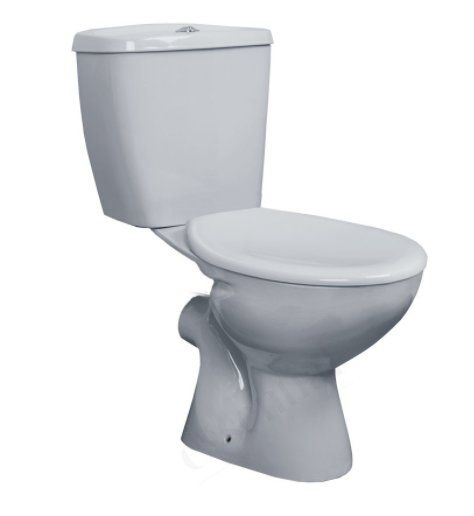 Essential Ocean Close Coupled WC Pack inc Seat