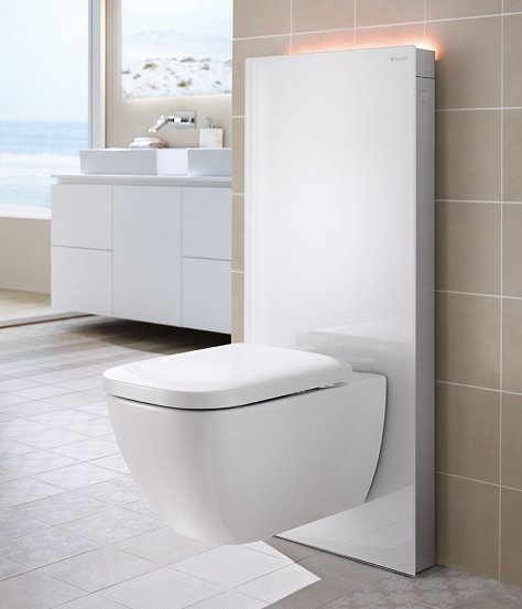 geberit monolith plus 114cm for wall hung wc bathroom supplies online. Black Bedroom Furniture Sets. Home Design Ideas
