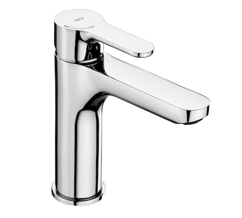 Roca L20 Basin Mixer with Smooth Body