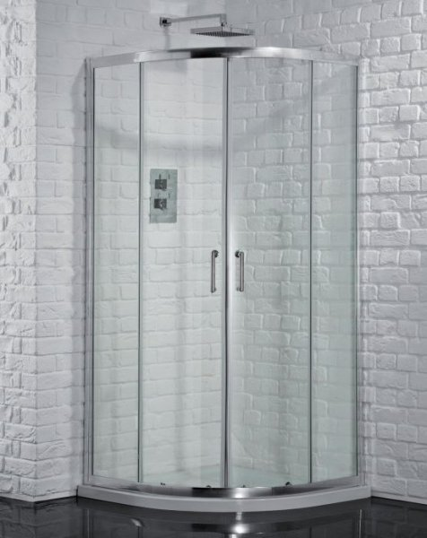 Aquadart Venturi 6 800 x 800mm Double Door Quadrant