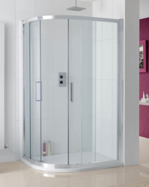 Lakes Valmiera Offset Quadrant Shower Enclosure