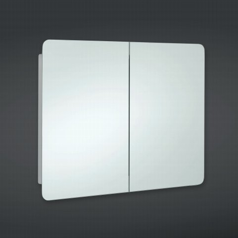 RAK Mirrors Duo Stainless Steel Double Cabinet