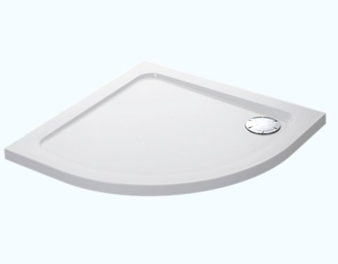 Mira Flight Low 1000 x 800mm Offset Quadrant Shower Tray