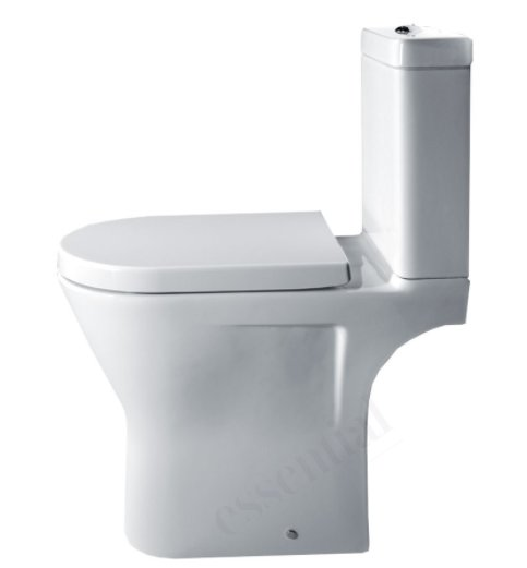 Essential Ivy Comfort Height Close Coupled WC Pack inc Seat